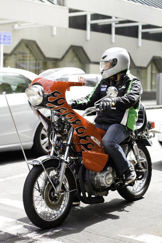 Bosozoku bikes Japan - Fire