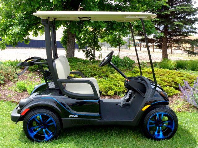 Used Yamaha Big Red Golf Carts