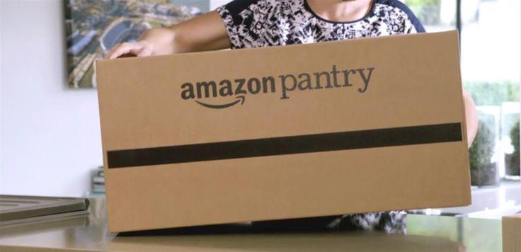 Amazon lance Pantry, un service de livraison à domicile pour les courses du quotidien