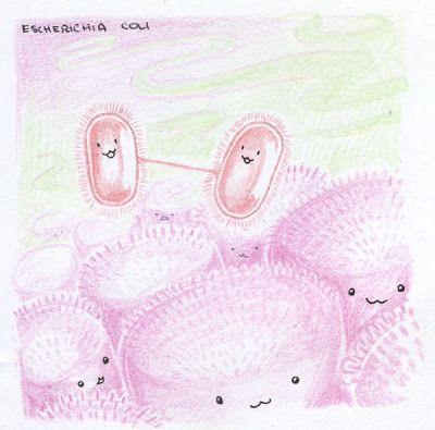 LA CIENCIA DE LA VIDA: ARTE & MICROBIOLOGÍA: BACTERIAS