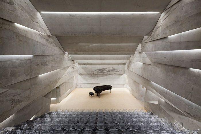 Nouvelle salle de concert architecturale en Allemagne par Peter Haimerl