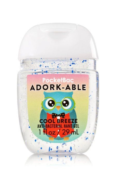 Bath Body Works PocketBac - Adork-able - Gel antibactérien - Luxury Beauty - http://amzn.to/2hZFa13