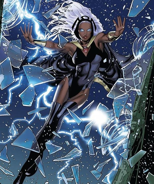 storm - x men mother natures angry.   Geeks are the new ...