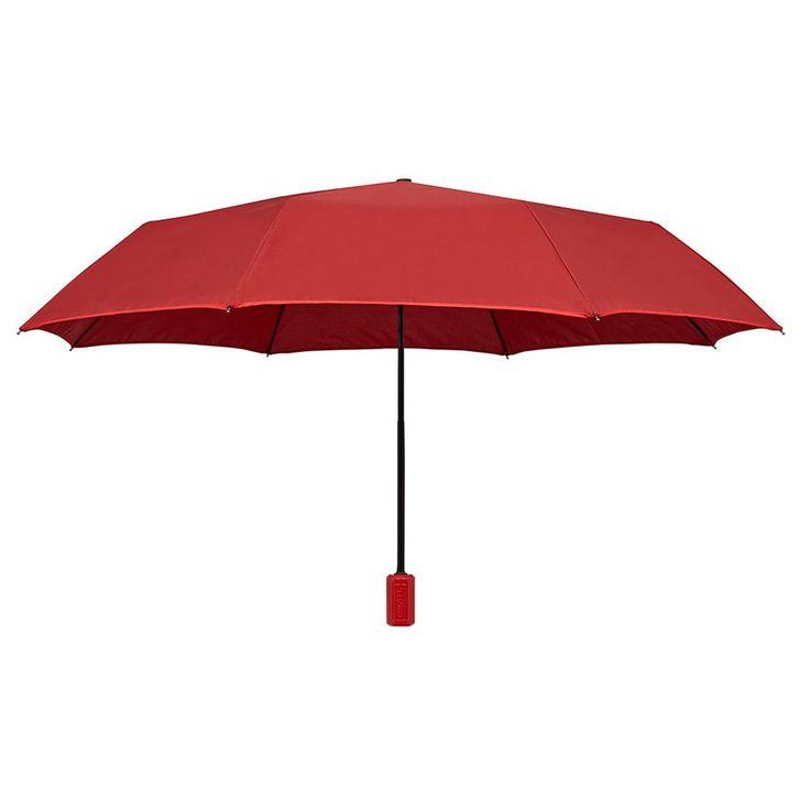Hunter Boot - Original Manual Compact Umbrella - Military Red
