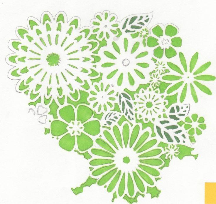 flower stencil patterns - photo #16