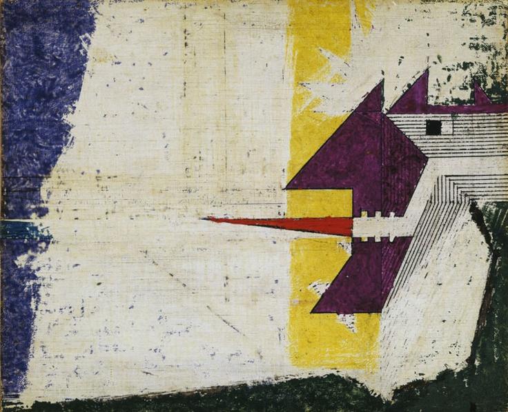 """Osvaldo Licini - Assaggiare, 1934-36  """"La Magnifica Ossessione"""" www.mart.tn.it/magnificaossessione"""