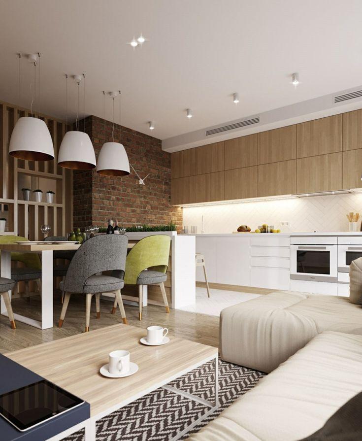 1001 + idee per Cucina soggiorno open space - idee di ...