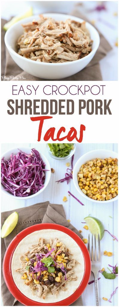 ... pork taco recipe with a crockpot shredded pork and honey citrus