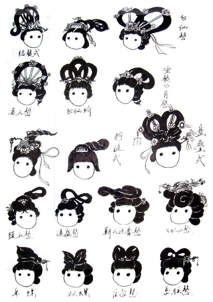 (Chinese Hairstyle 148)