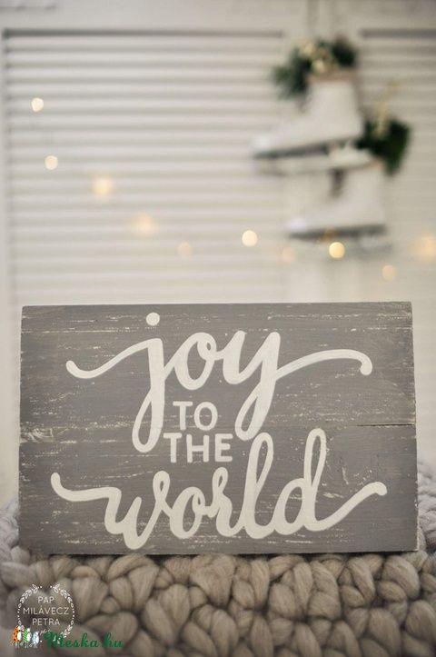 Joy to the world (Deszka) - Meska.hu