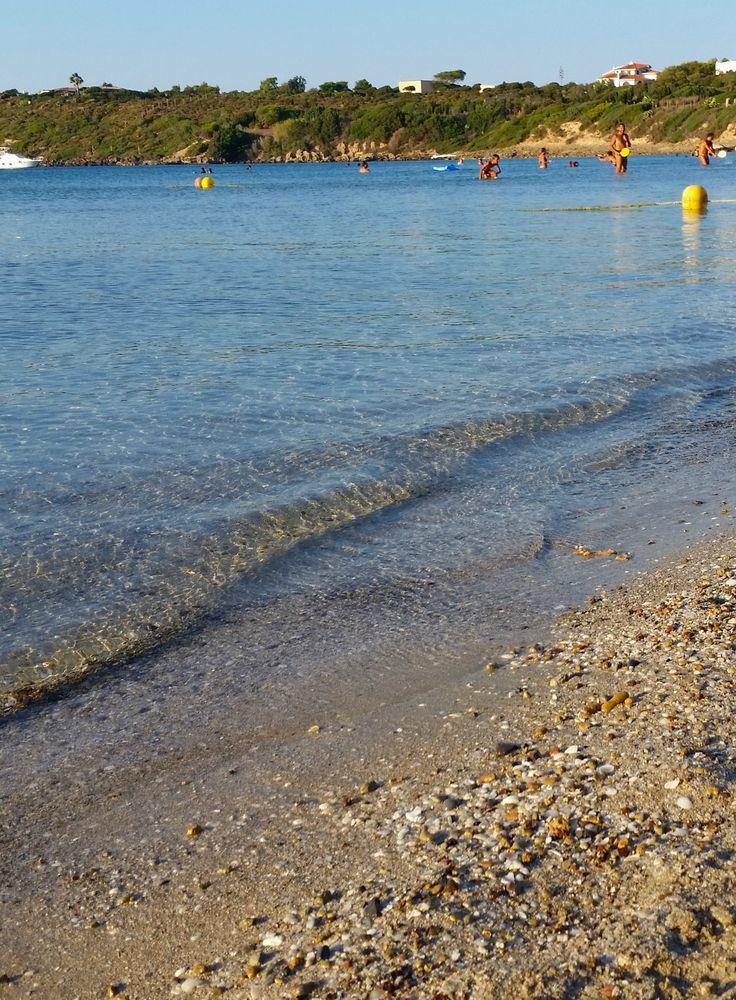 Spiaggia La Salina a settembre - Sardegna Sud-Ovest