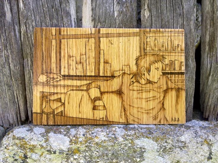 bolso madera