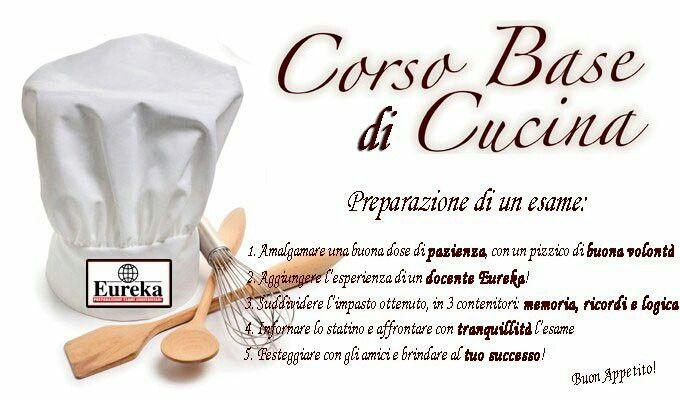 Prepara un buon esame con #EUREKA, bastano pochi ingredienti!  #eureka #eurekaesami #labuonascuola #preparazione #esami  www.eurekaesami.it twitter: eureka_esami  instagram: eureka_esami