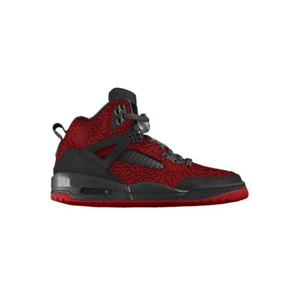 Nike Jordan Spizike iD Custom Women's Basketball Shoes - Red, 12 ($210) ❤ liked on Polyvore