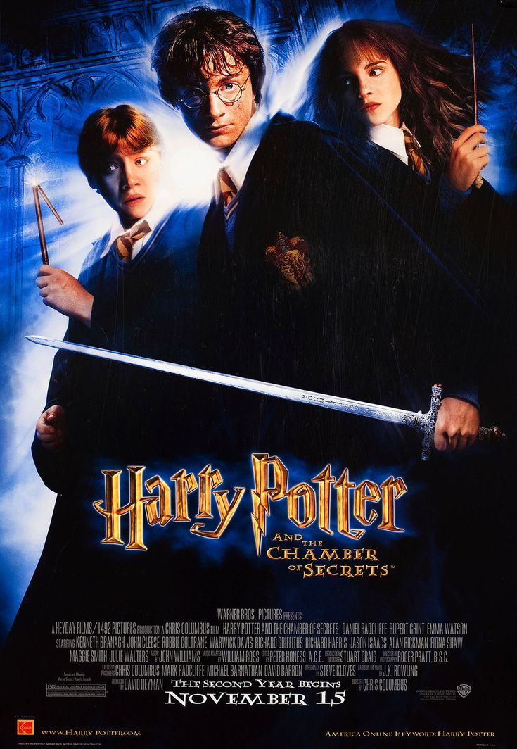 Harry Potter and the Chamber of Secrets 2002 U.S. Poster at Posteritati.com