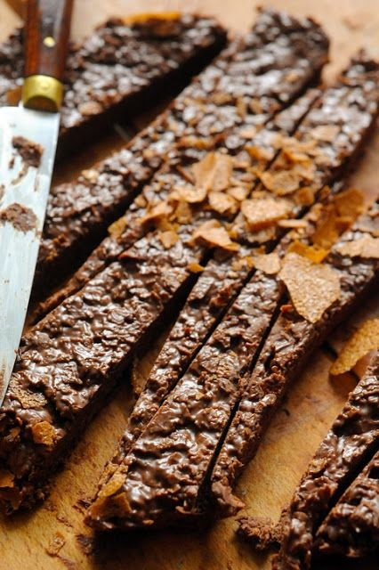 Crunchy chocolate fingers - Recipe in English... Nutella