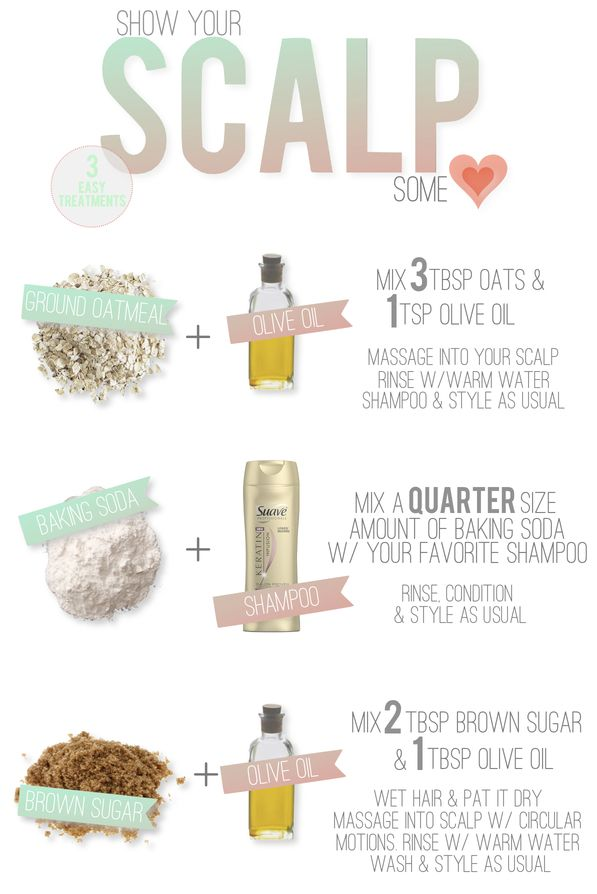 DIY hair treatments.