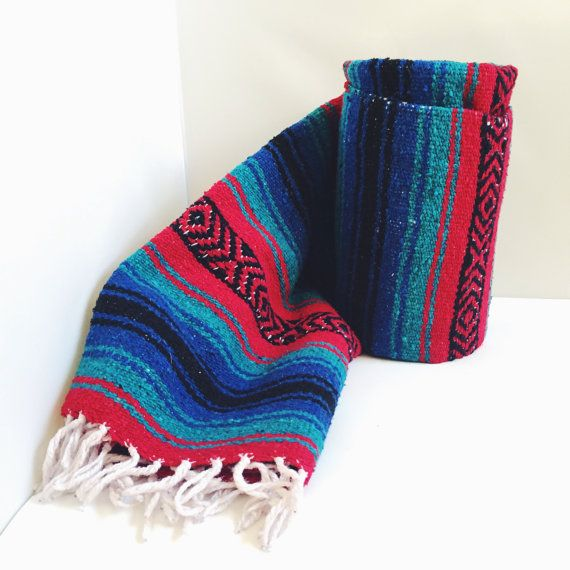 Would vintage mexican blanket