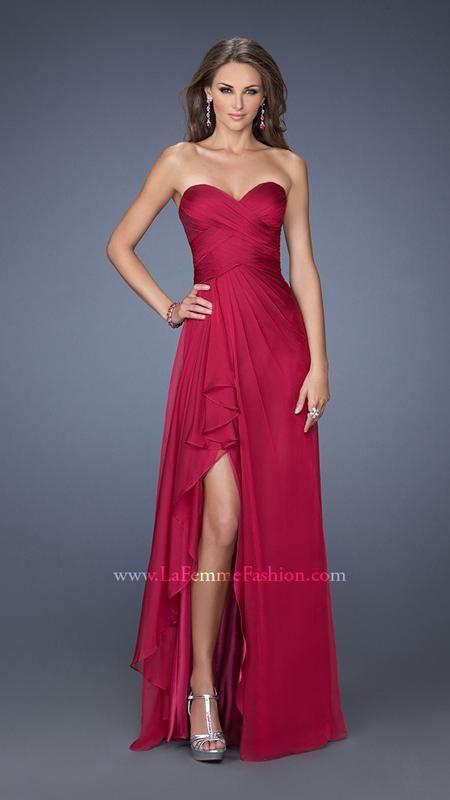 La Femme 19823   La Femme Fashion 2014 - La Femme Prom Dresses - Dancing with the Stars