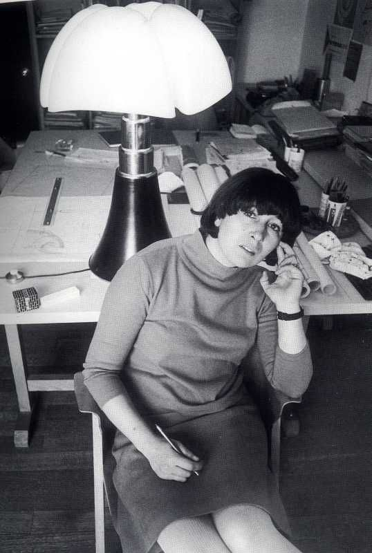 gae aulenti ~ architect of the Musee D'Orsay in Paris