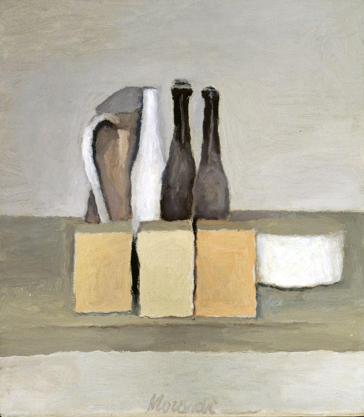 Giorgio Morandi, Natura morta, 1956, Mart, Rovereto