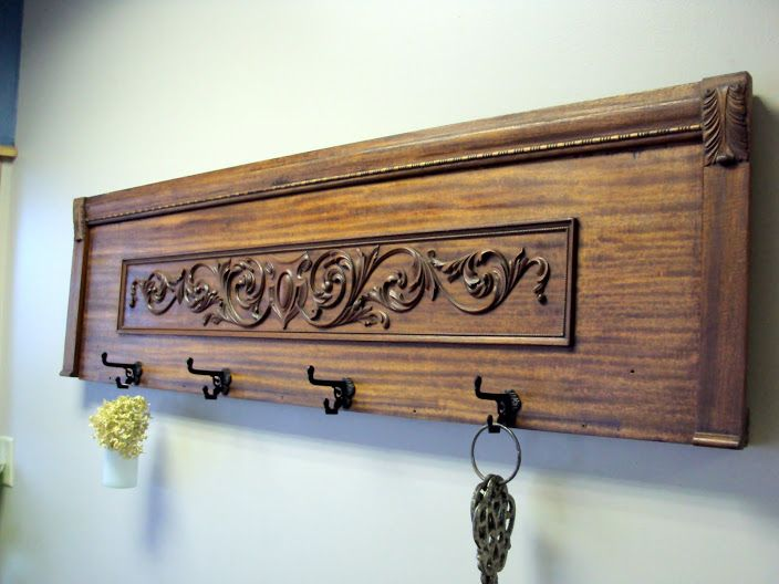 Coat Rack from an Old Piano