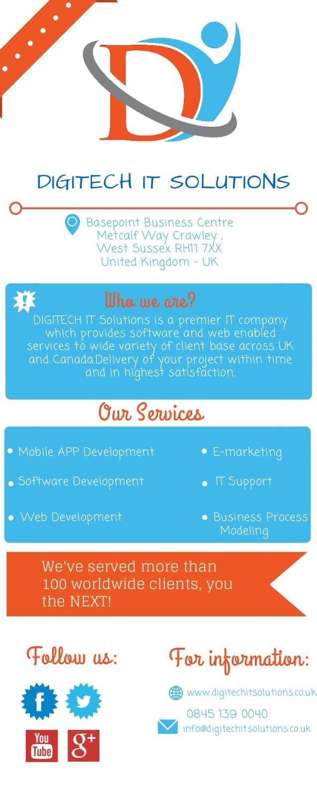 A forward looking company manged by professionals in their respective fields, we strives to provide tailor made cutting edge solutions, through out of box thinking, for our valued clients.Our commitment is to provide very contemporary solutions to web site development. So if you are looking for a dedicated, thorough, and multi-disciplined team of solution providers give us a call.