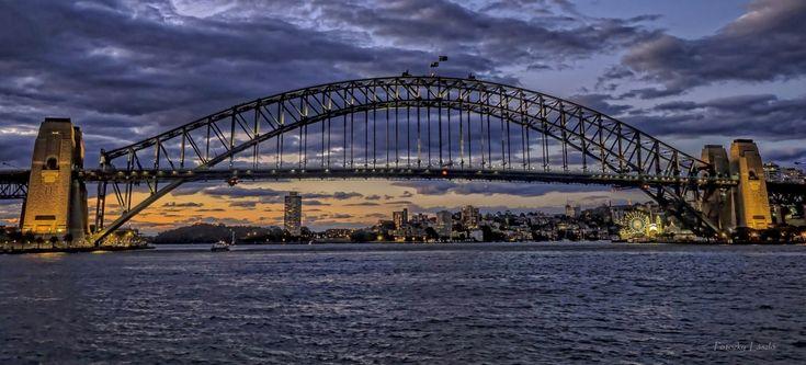 """breathlesspics:  """"Sydney Harbour Bridge, Australia [2048 x 928] by László Potozky  """""""
