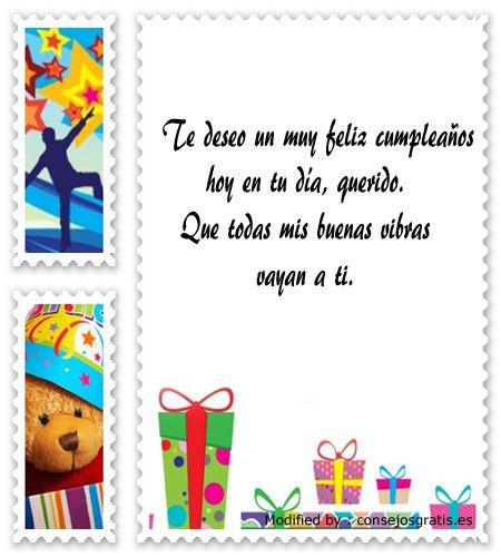 bonitos mensajes de cumpleaños para mi amigo,bonitas dedicatorias de cumpleaños para mi amigo : http://www.consejosgratis.es/increibles-frases-para-una-amistad-por-su-cumpleanos/