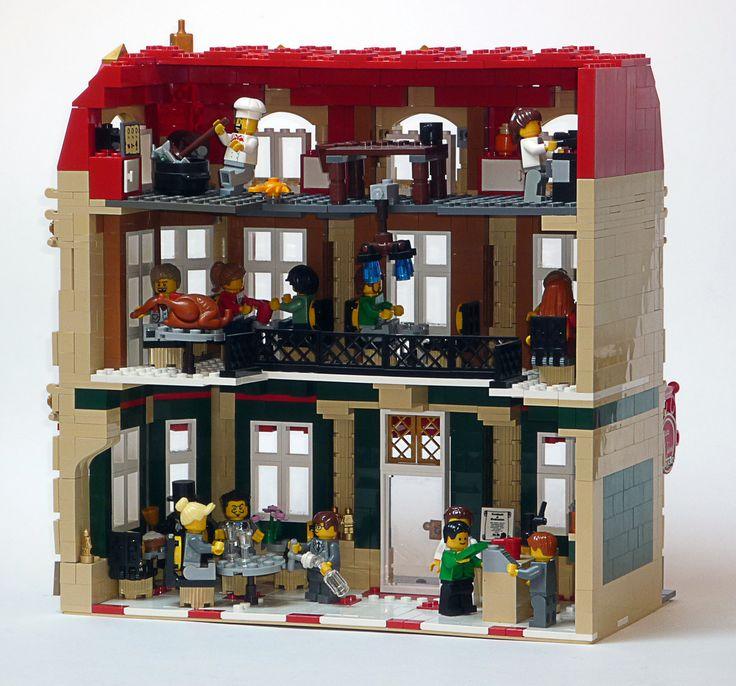 House Building Ideas: Modular LEGO Building Ideas