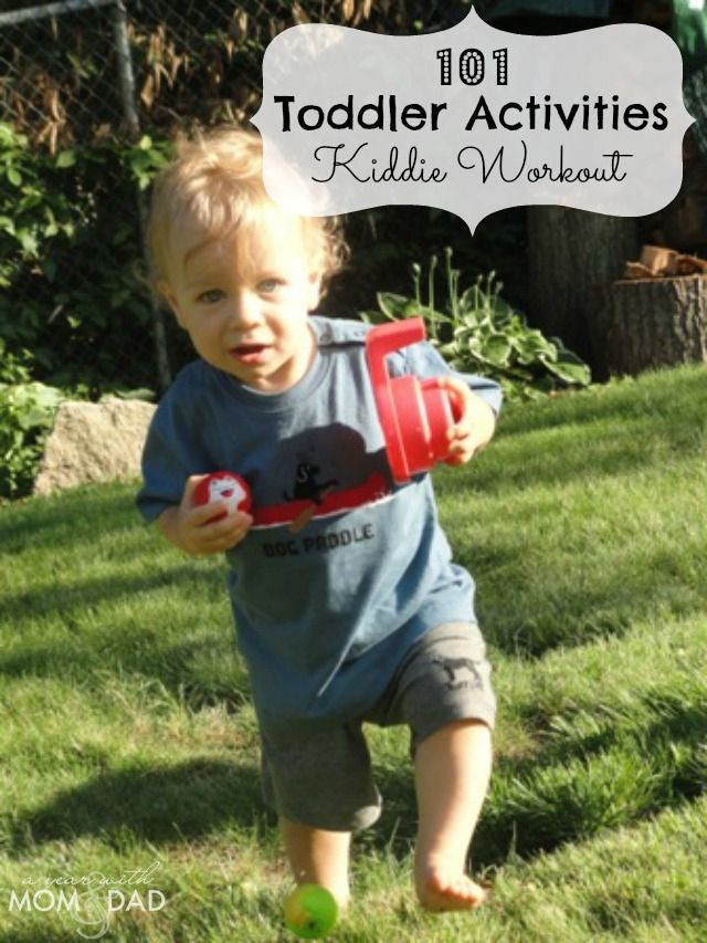 101 Toddler Activities ~ Kiddie Workout!: Toddlers Activities, Kids Stuff, 101 Toddlers, Kids Activities, Fun Things, Workout Ideas, Kiddie Workout, Dads, Toddler Activities