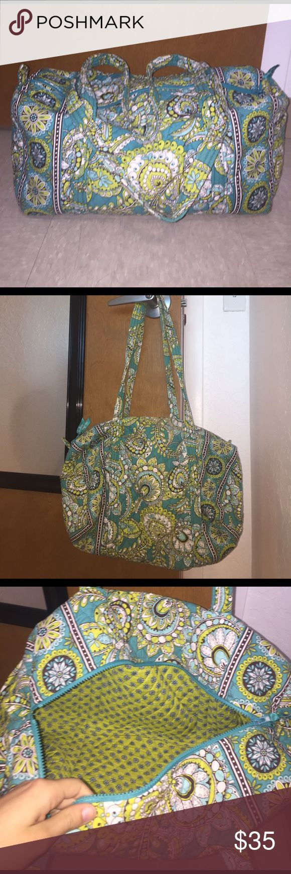 Small Vera Bradley Duffel Bag This used weekender bag is in great condition, like new! No marks or scuffs. Such a beautiful pattern as well!  Vera Bradley Bags Travel Bags