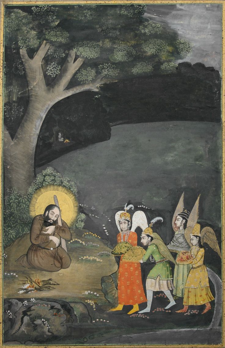 Ibrahim ibn Adham c. 718 – c. 782 / AH c. 100 – c. 165, was one of the most prominent of the early ascetic Sufi saints. The story of his conversion is one of the most celebrated in Sufi legend, as that of a prince renouncing his throne and choosing asceticism closely echoing the legend of Gautama Buddha.Sufi tradition ascribes to Ibrahim countless acts of righteousness, and his humble lifestyle, which contrasted sharply with his early life as the king of Balkh (itself an earlier center of…
