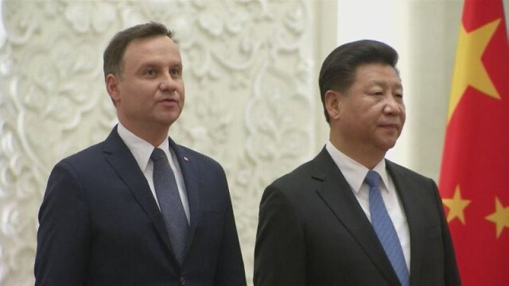 Prezydent Andrzej Duda uroczyście przyjęty w Chinach
