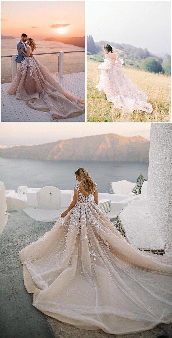 130 Dreamy Princess Ball Gown Wedding Dresses For Fairytale Brides Forevermorebling Wedding Blog Brautfrisur Braut Frisuren