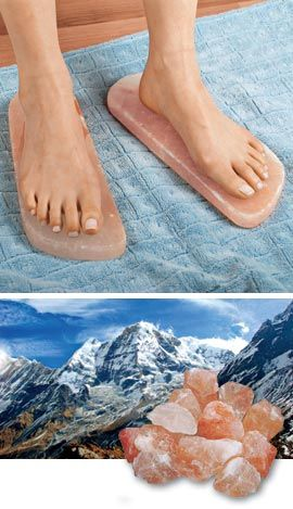 Himalayan salt detox blocks for feet