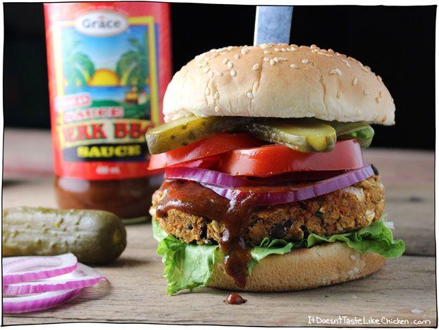 ... Burgers on Pinterest | Veggie burgers, Vegan burgers and Black bean