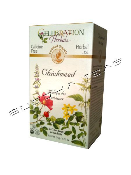 Chickweed Tea Organic - very mild diuretic / laxative effect, one cup in the afternoon for weight loss per Dr. Oz