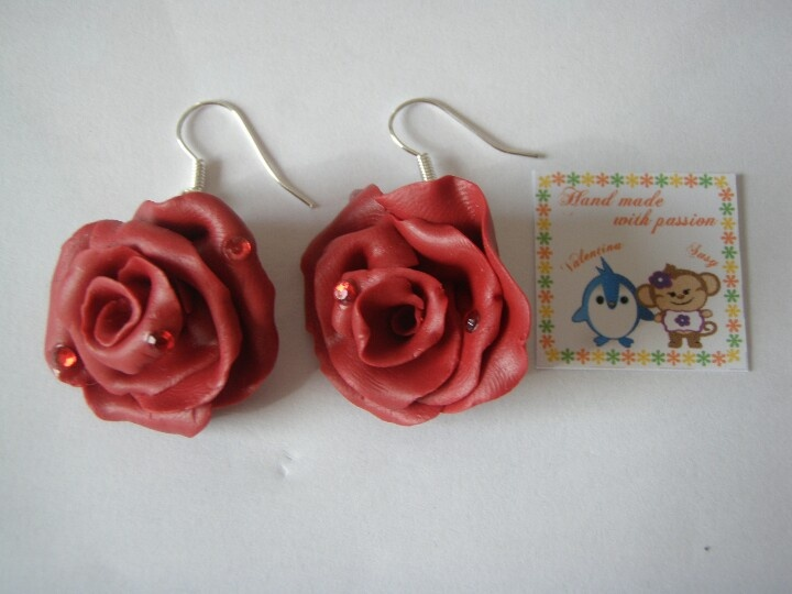 #art #roses Fimo collection