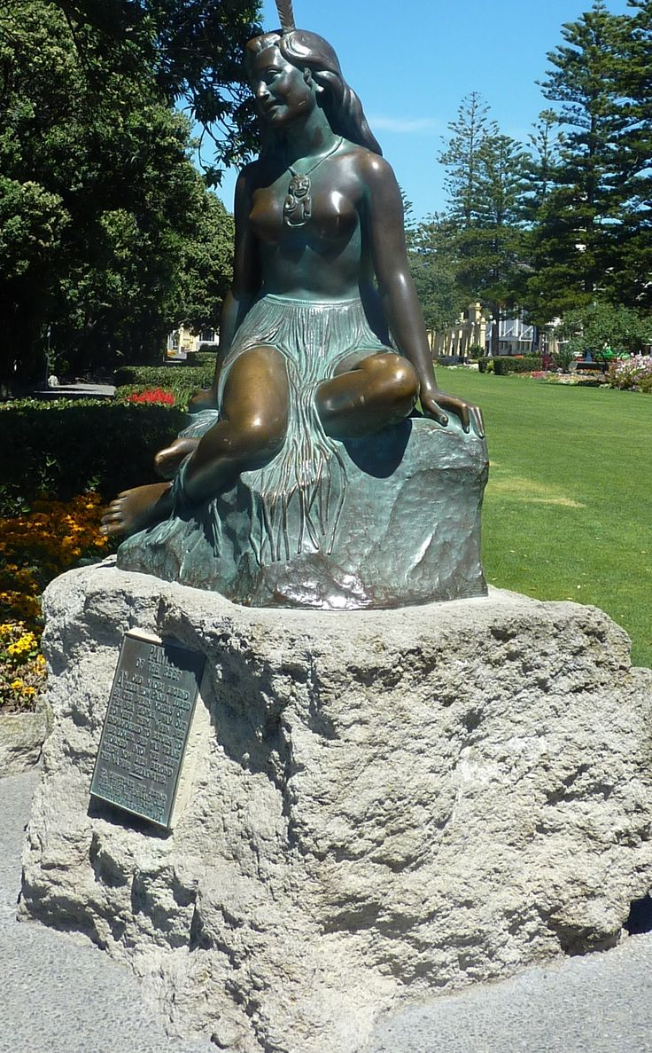 Pania of the Reef: Maori Legend.... Napier Landmark.... New Zealand