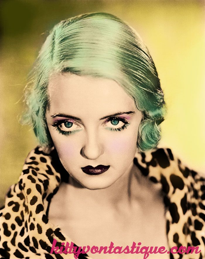 My Alt version of Betty Davis with mermaid hair :P Photoshop by me - kittyvontastique.com