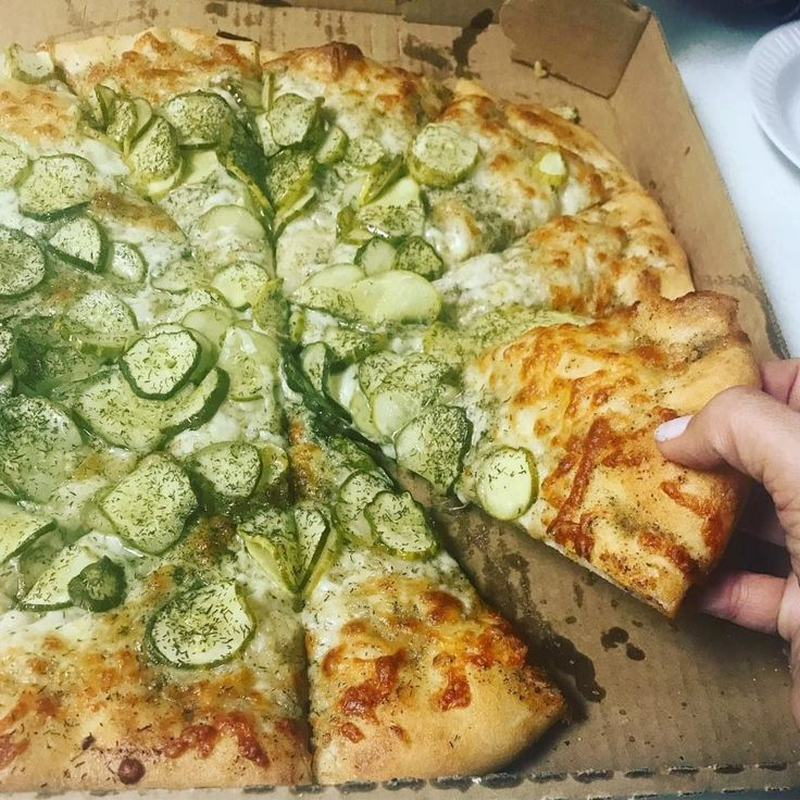 Dill pickle pizza with images easy pickling recipes