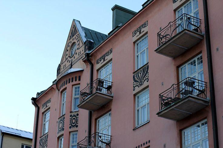 Jugend style building, Kallio, Helsinki