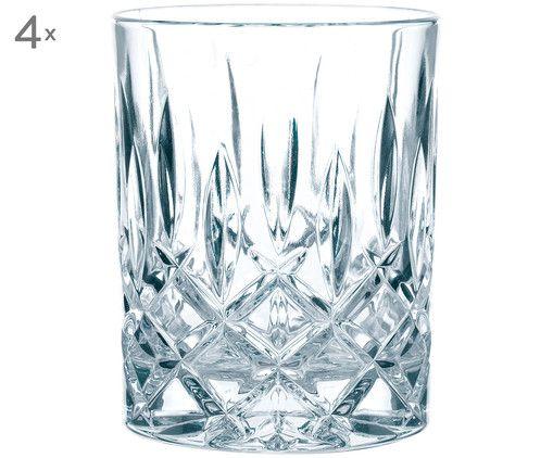 Kristall-Whiskeygläser Noblesse (4er-Set)