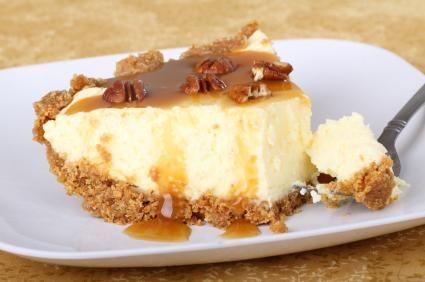 Gâteau au fromage, au sirop d'érable et aux pacanes