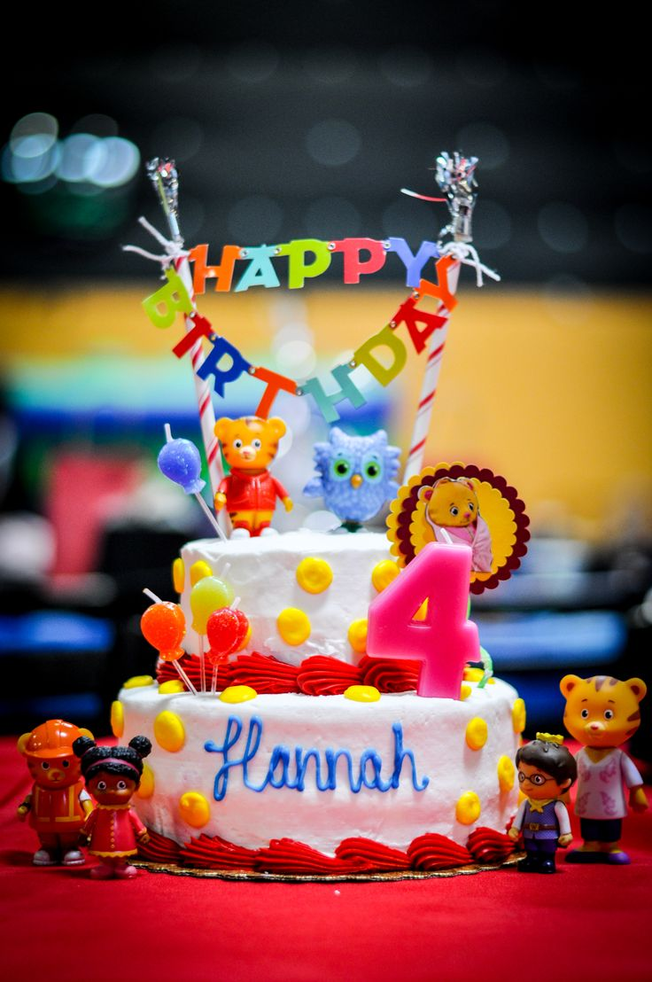 Best 25 Daniel Tiger Cake Ideas Only On Pinterest