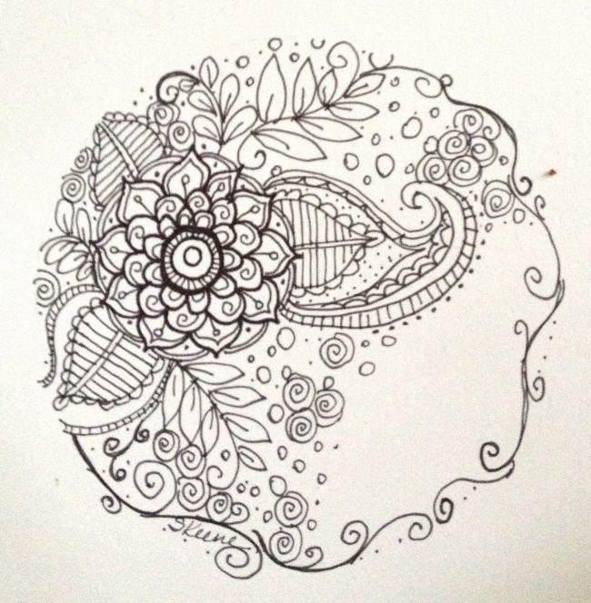 circle doodle by Sandi Keene
