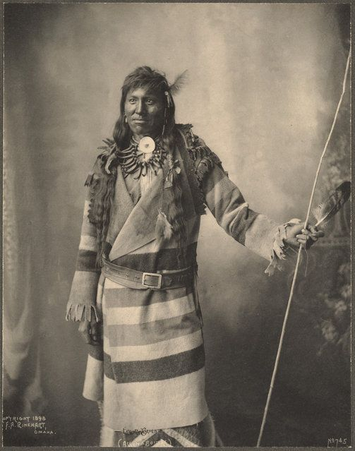 Frank A. Rinehart, a commercial photographer in Omaha, Nebraska, was commissioned to photograph the 1898 Indian Congress, part of the Trans-...
