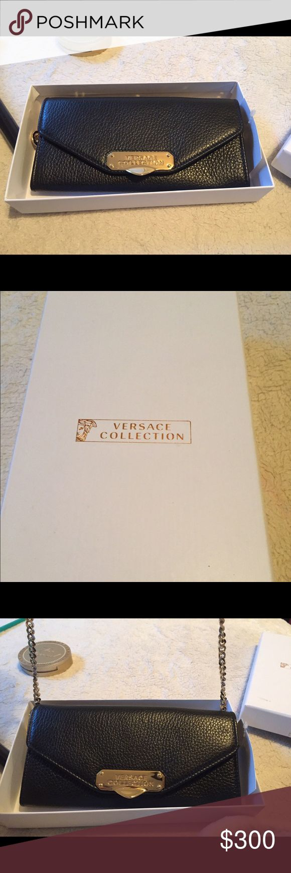 Versace wallet/satchel Versace wallet, Satchel, Versace bag
