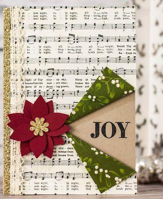 Musical Joy Christmas Card by Bekka